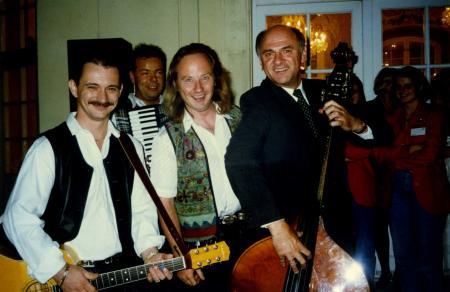 LH Pröll und das Hans Ecker Trio