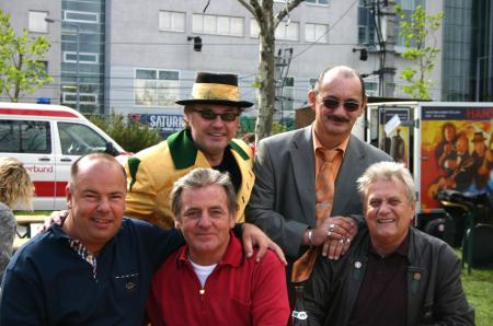 Peter Trenkwalter und Uli Wehofer mit dem Hans Ecker Trio