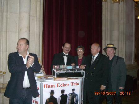 Rudi Bichler, Prof. Felix Lee, Prof. Walter Heider, Hans Ecker und Peter Jägersberger