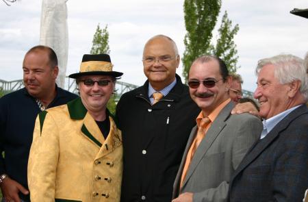 Donauinselchef Harry Kopitz mit dem Hans Ecker Trio