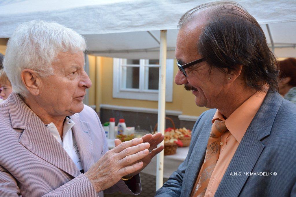 Mandy und KR Hans Ecker