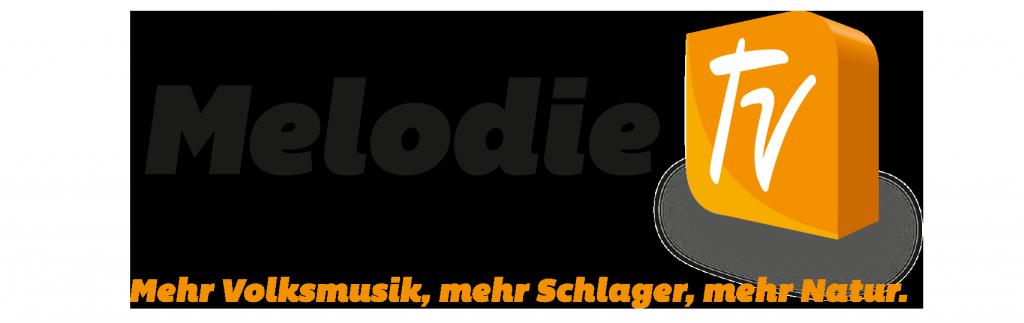 Melodie TV Logo 3D Slogan